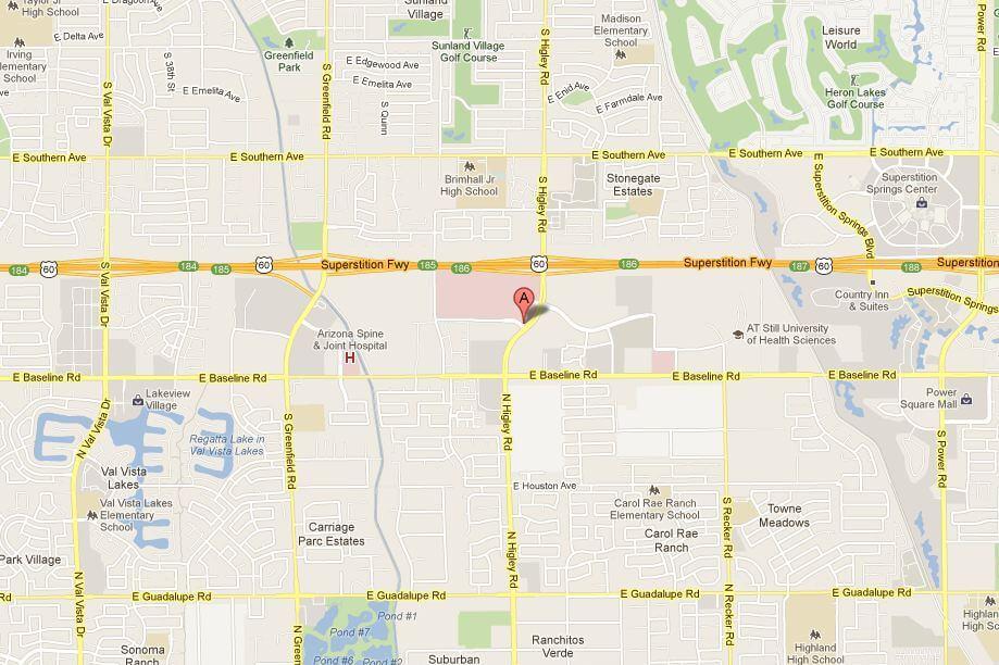 Map Of Arizona Hospitals.Mesa Acls Pals Bls Online Certification Recertification Renewal
