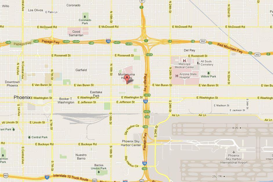 Map Of Arizona Hospitals.Phoenix Acls Pals Bls Online Certification Recertification Renewal