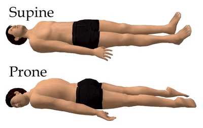 Supine and Prone